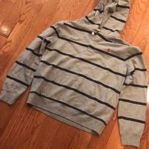 Ralph Lauren polo hoodie -excellent boys 18/20